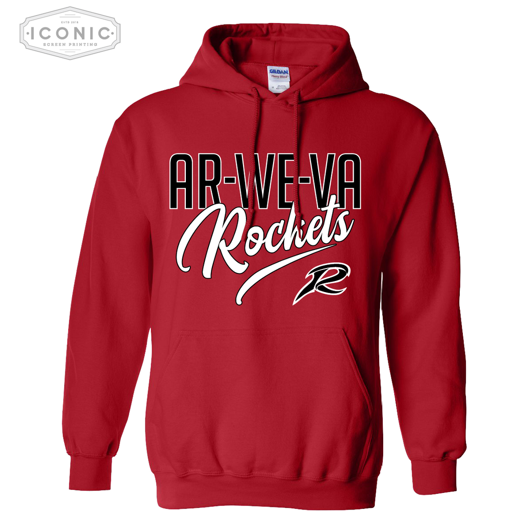 AWV Rockets - Heavy Blend Hooded Sweatshirt