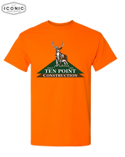 Load image into Gallery viewer, Ten Point Logo - Dryblend T-shirt