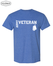 Load image into Gallery viewer, Army Veteran DryBlend T-Shirt