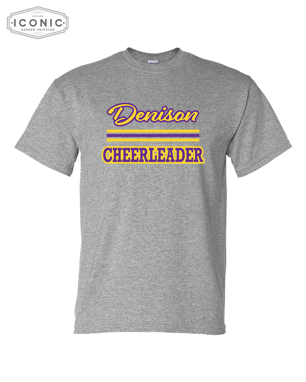 Denison Cheerleader - DryBlend® T-Shirt - 8000