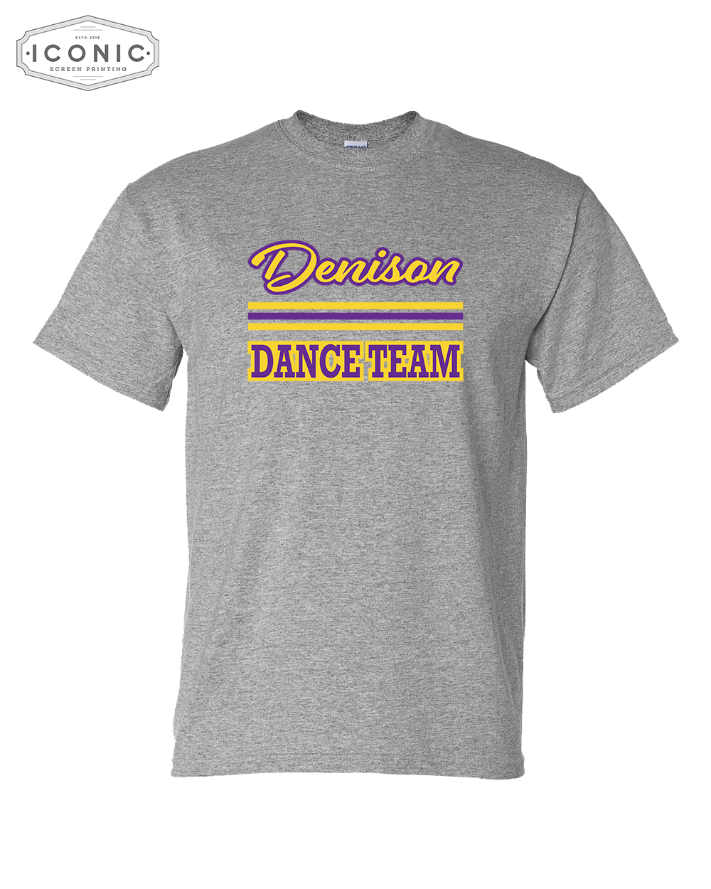 Denison Dance Team Gildan-DryBlend® T-Shirt - 8000