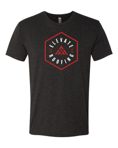 Hexagon Elevate Next Level - Triblend Short Sleeve Crew