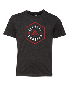 Hexagon Elevate Next Level - Youth Triblend Short Sleeve Crew