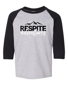 Respite Adventures Youth 3/4 Sleeve