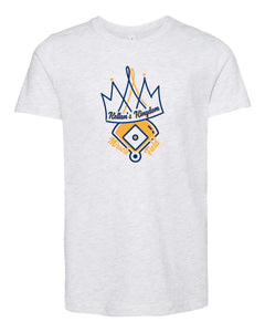 Crown Youth Ash T-shirt