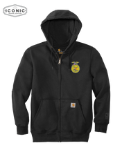Load image into Gallery viewer, Carhartt Rain Defender Paxton Heavyweight Hooded Zip