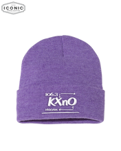 "Load image into Gallery viewer, The Morning Rush - Solid 12"" Cuffed Beanie"