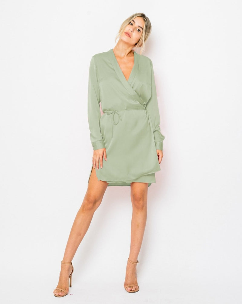 Filippa satin dress