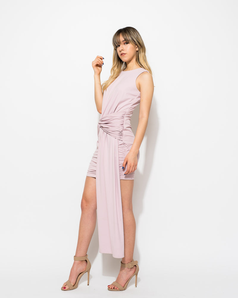 Rad draped dress