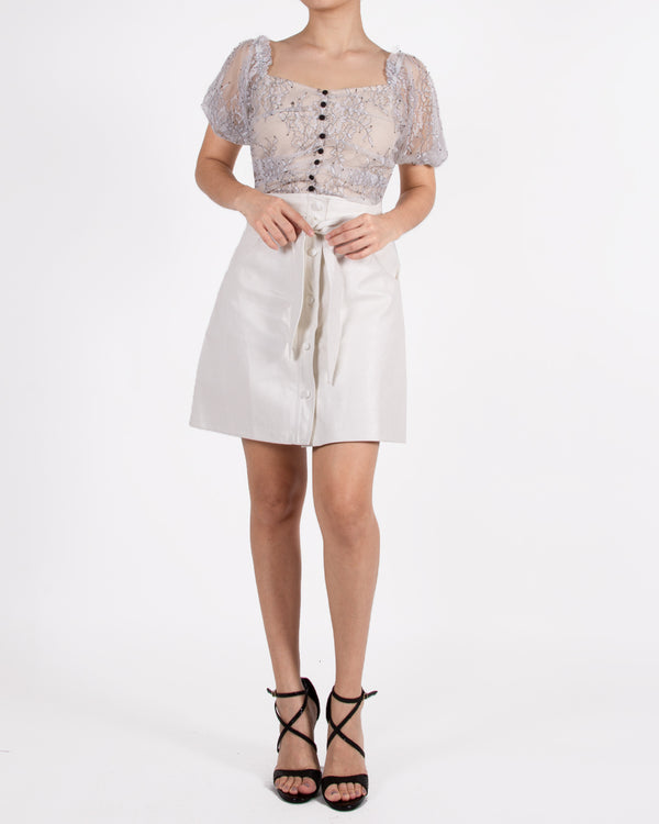 Wittney white blouse
