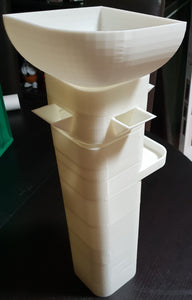 3D Printable Modular Dice Tower - Large Size (25 Files)