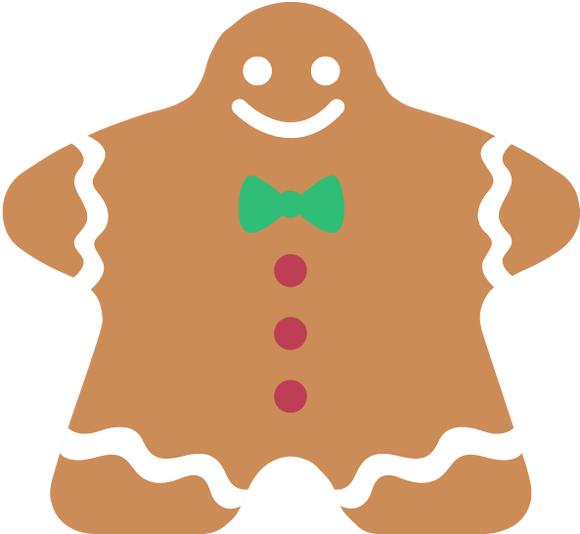 Meeple Coaster - Gingerbread Man