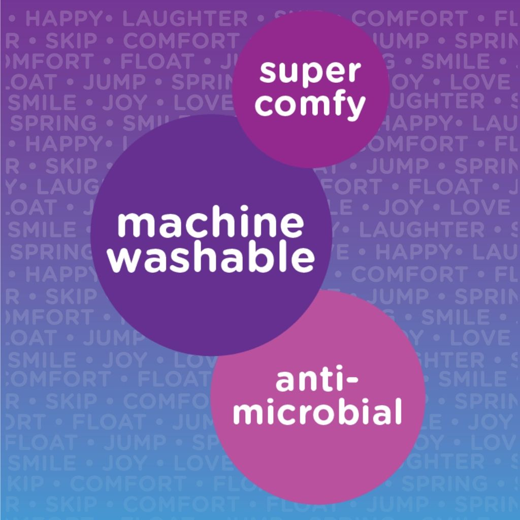 Super Comfy, Machine Washable, Anti-microbial