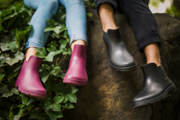 Cirrus Chelsea Rainboots on Male and Female Models