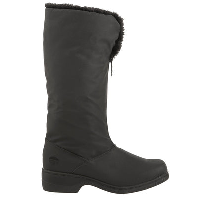 Cynthia Tall Winter Boots in Black Profile