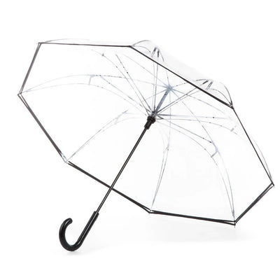 InBrella Reverse Close Umbrella in Clear Open Under Canopy