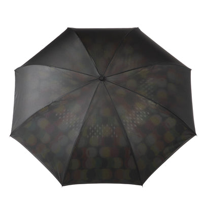 InBrella Reverse Close Umbrella in Circle Mania Open Top View