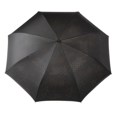 InBrella Reverse Close Umbrella in Enchanted Garden Open Top View