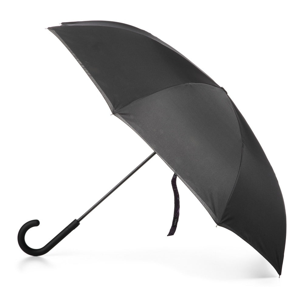 InBrella Reverse Close Umbrella in Galaxy Open Side Profile