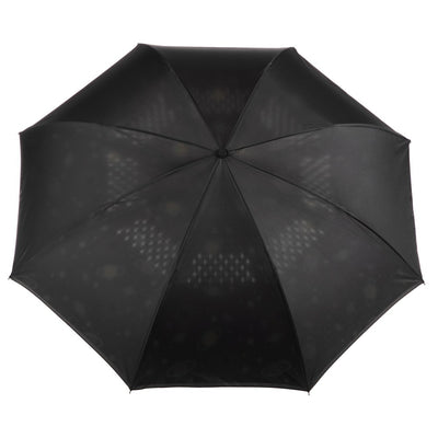 InBrella Reverse Close Umbrella in Galaxy Open Top View