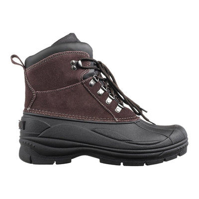 Men's Glacier Lace Winter Boot in Brown Profile