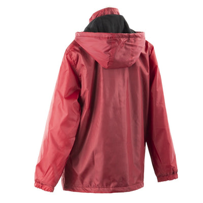 Women's Three Season Short-length Storm Jacket in Merlot Back