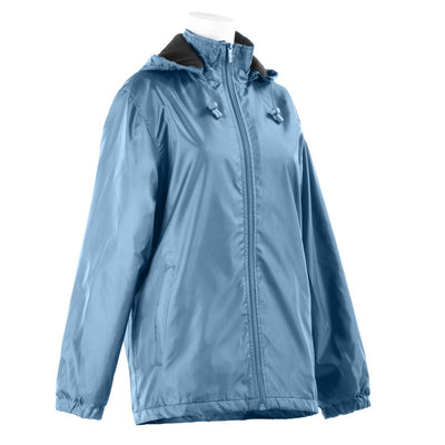 Women's Three Season Short-length Storm Jacket in Storm Right Angled View