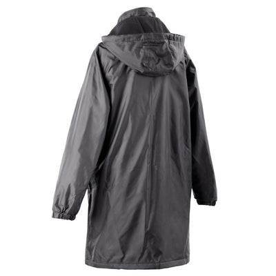 Women's Three Season Mid-length Storm Jacket in Black Back
