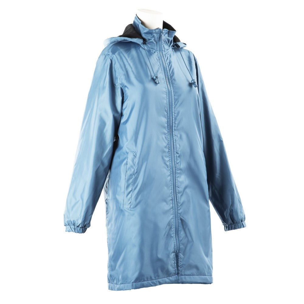 Women's Three Season Mid-length Storm Jacket in Storm Right Angled View