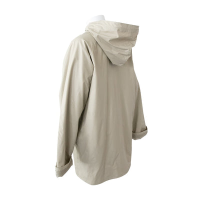 Lined Rain Slicker in Khaki Back