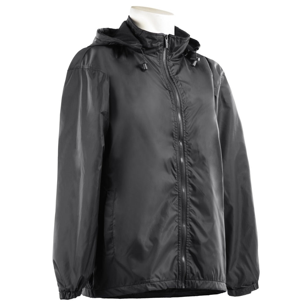 Men's Three Season Storm Jacket in Black Side Profile