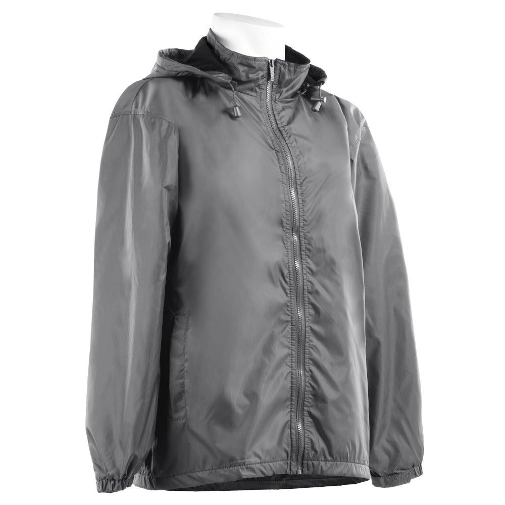 Men's Three Season Storm Jacket in Gun Metal Side Profile