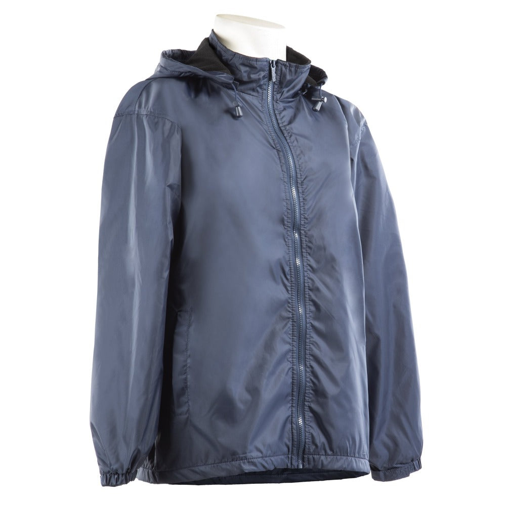 Men's Three Season Storm Jacket in Navy Side Profile