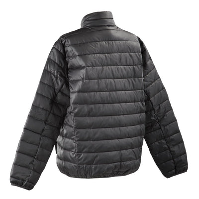 Men's Packable Puffer Jacket in Black Back