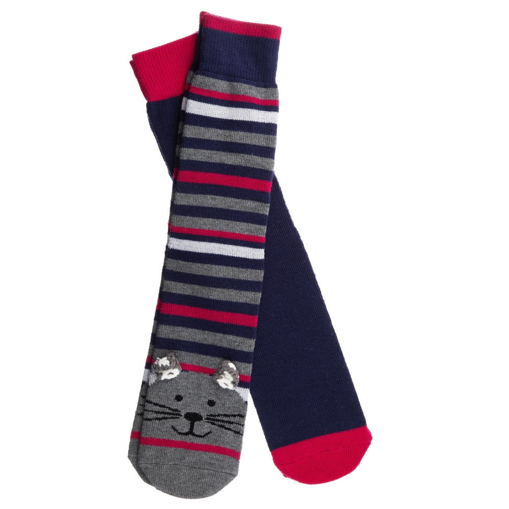 Women's 2-Pack Embellished Toastie™ Slipper Socks in Cats