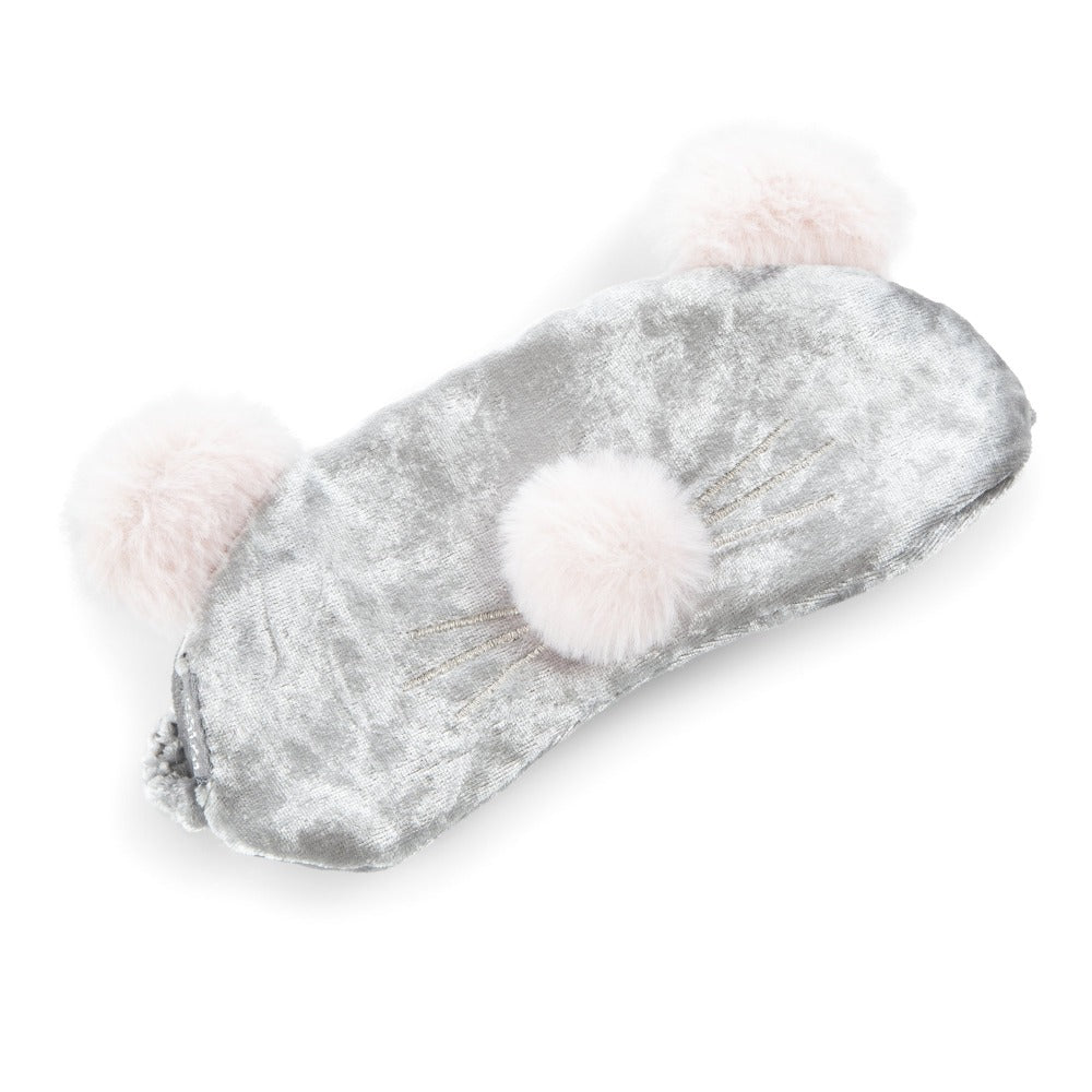 Women's Novelty Ballet Slipper and Eye Mask Set in Mouse Eye Mask