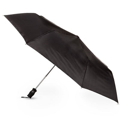 Sport Auto Open/Close Umbrella in Black Open Side Profile