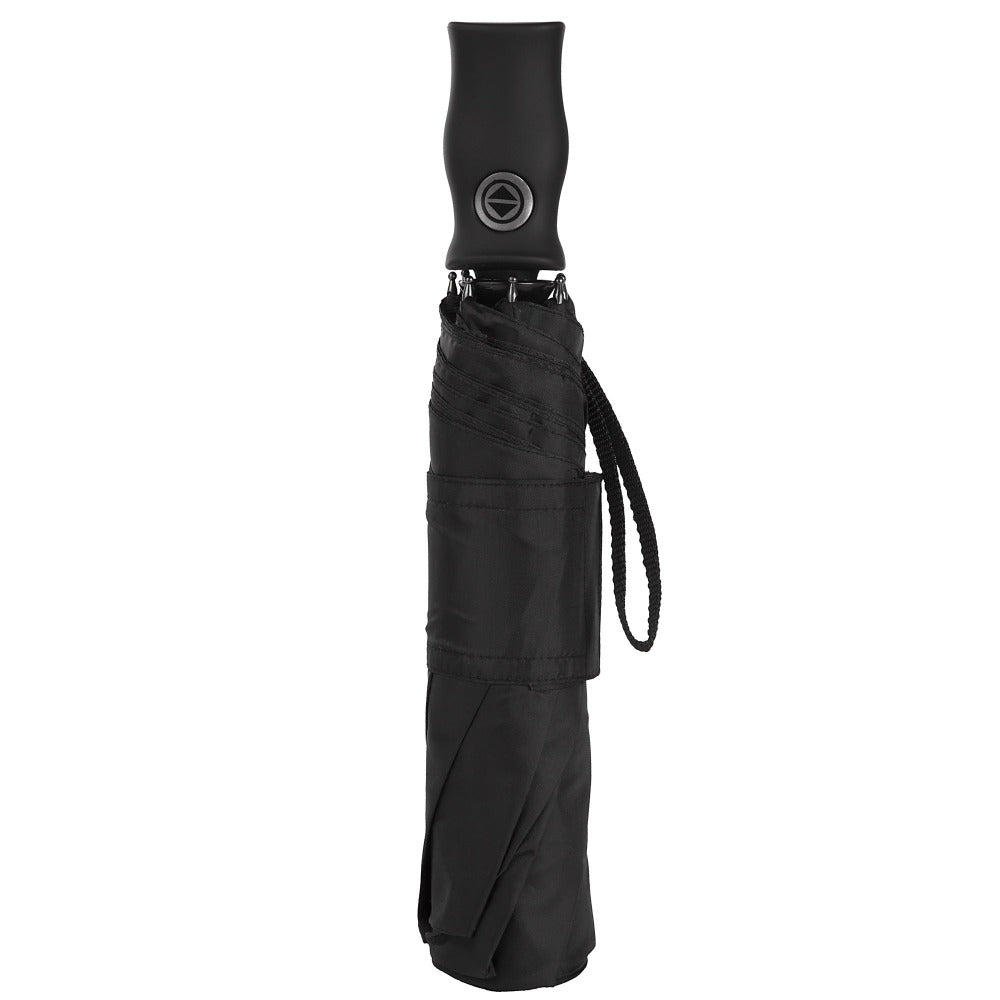 Sport Auto Open/Close Umbrella in Black Closed