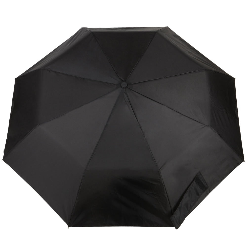 Sport Auto Open Umbrella in Black Open Top View