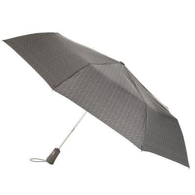 Titan Super Strong Large Folding Umbrella in Tread Open Side Profile