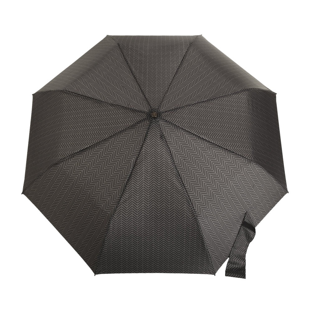 Titan Super Strong Large Folding Umbrella in Tread Open Top View
