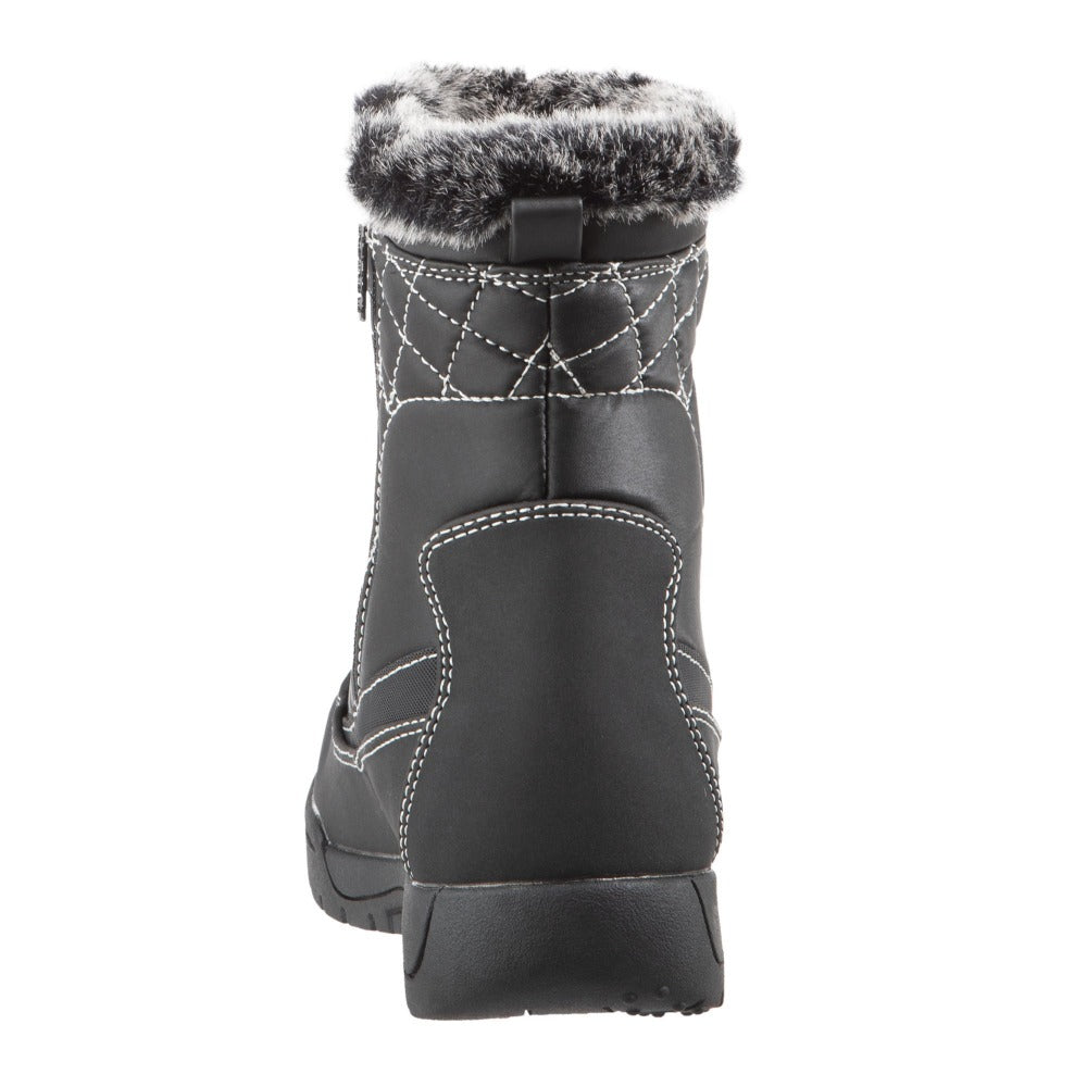 Women's Eve Winter Boots in Black Back