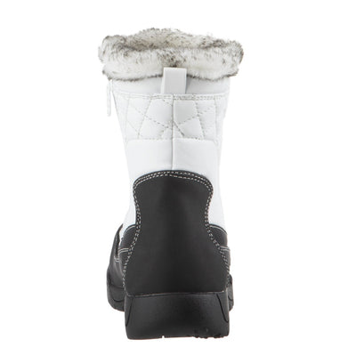 Women's Eve Winter Boots in White Back