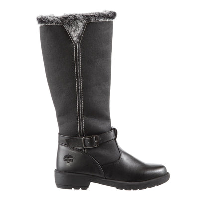 Women's Maryliza Tall Winter Boots in Black Profile