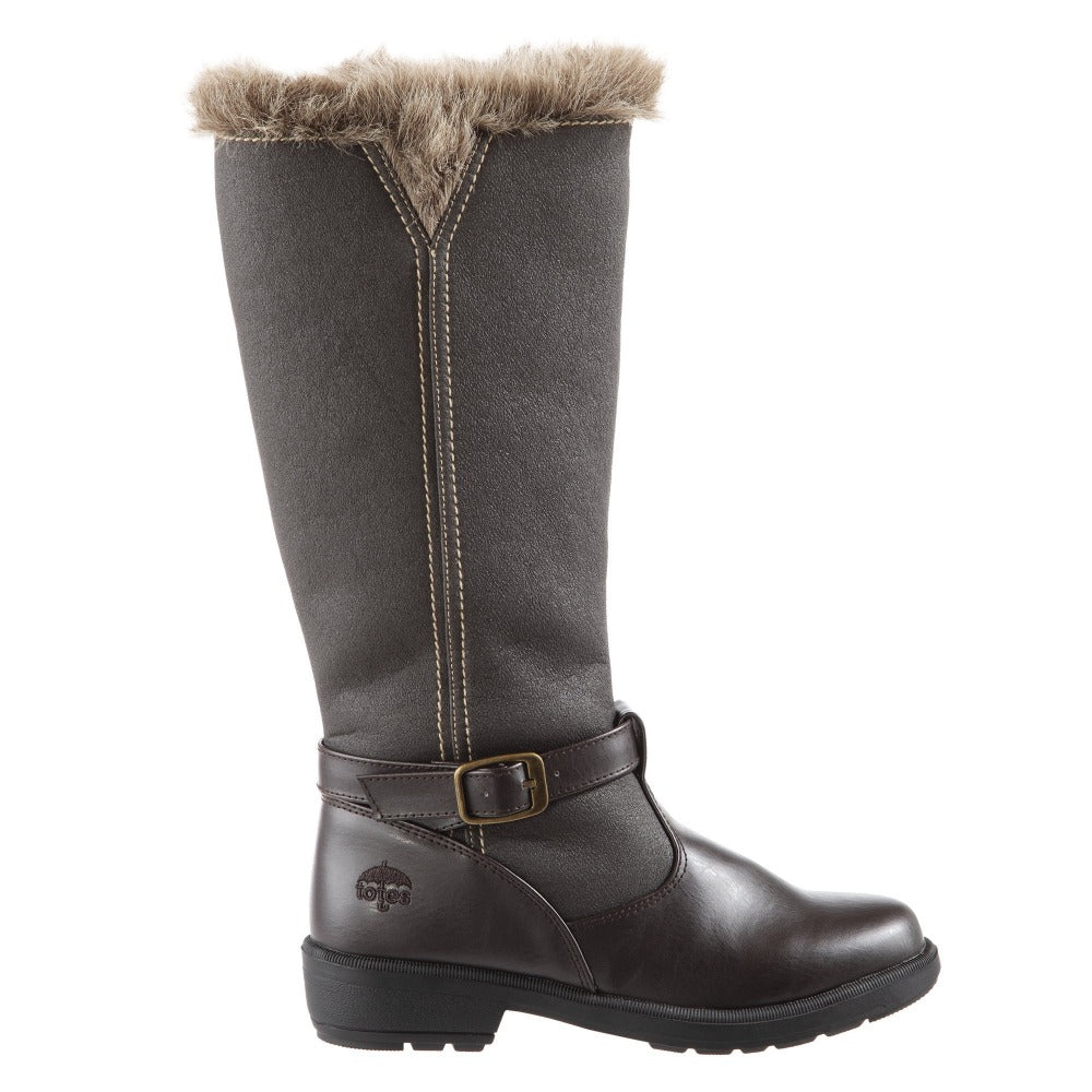 Women's Maryliza Tall Winter Boots in Brown Profile