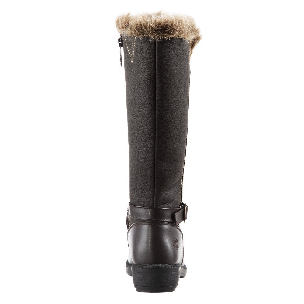 Women's Maryliza Tall Winter Boots in Brown Back