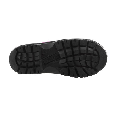 Girl's Nora Winter Boots in Black Bottom Sole Tread