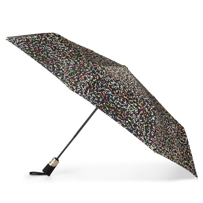 50th Anniversary Auto Open Close Umbrella in Sprinkles Open Side Profile
