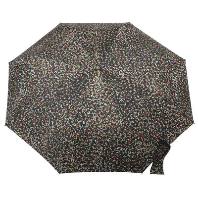 50th Anniversary Auto Open Close Umbrella in Sprinkles Open Top View