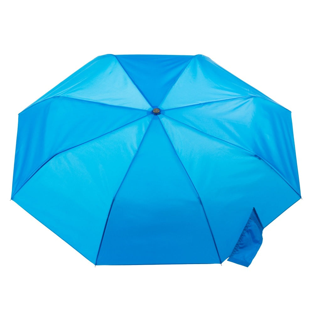 Super Slender Umbrella in Blue Open Top View
